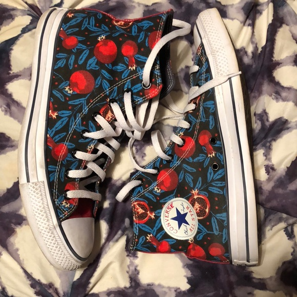 4130682aded1a4 Converse Other - Custom high top pomegranate converse
